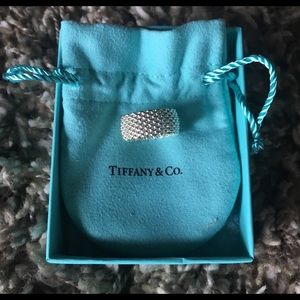 Tiffany & Co. Jewelry - Tiffany & Co. sterling silver mesh ring